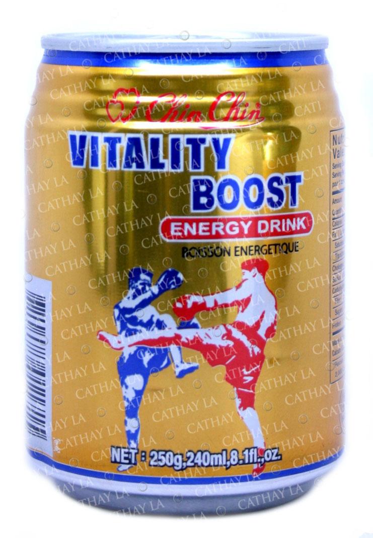Vitality Boost Energy Drink Cathay LA